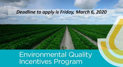 EQIP applications deadline set March 6
