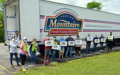 Mountaire Farms, RCA partner to sell 40,000 pounds of chicken