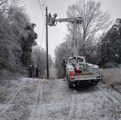 Winter storms slow life for some, others work 16 hour days for public safety