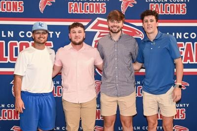 3 Falcons to continue at next level