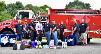 Flintville Volunteer Fire Rescue served as drop-off for school supplies