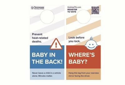 State offers free hangtags to help prevent heat related child deaths