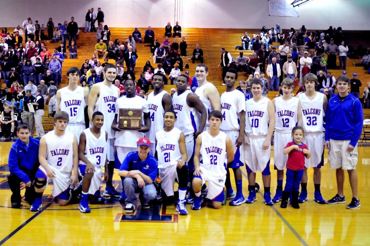 Falcons win district title game, fall in region tourney