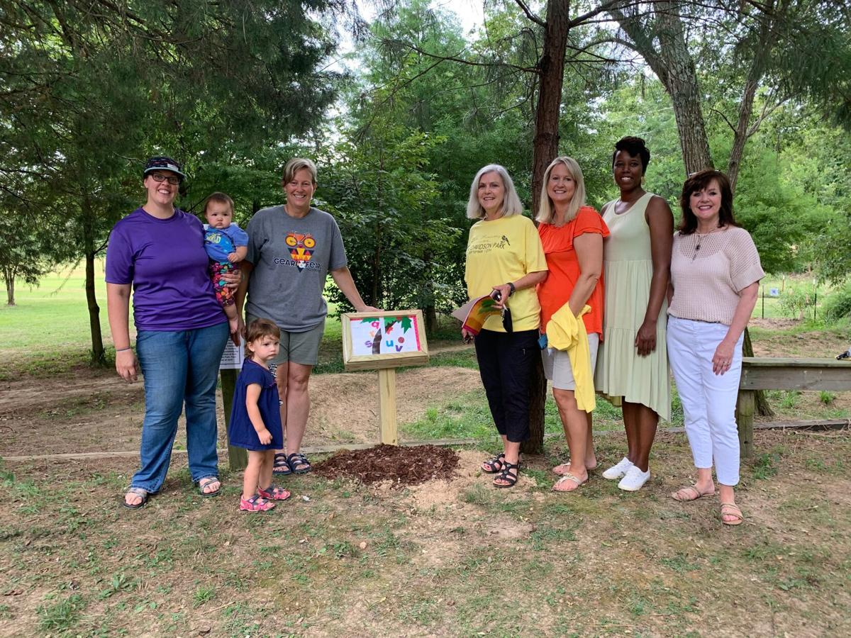 Story Book Trail opens, named after Brown
