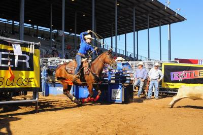 Wolaver competes in world's richest youth rodeo