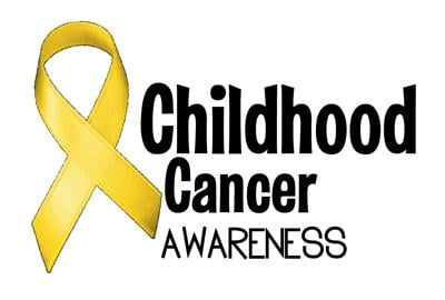 Community turns 'gold' for Childhood Cancer Awareness