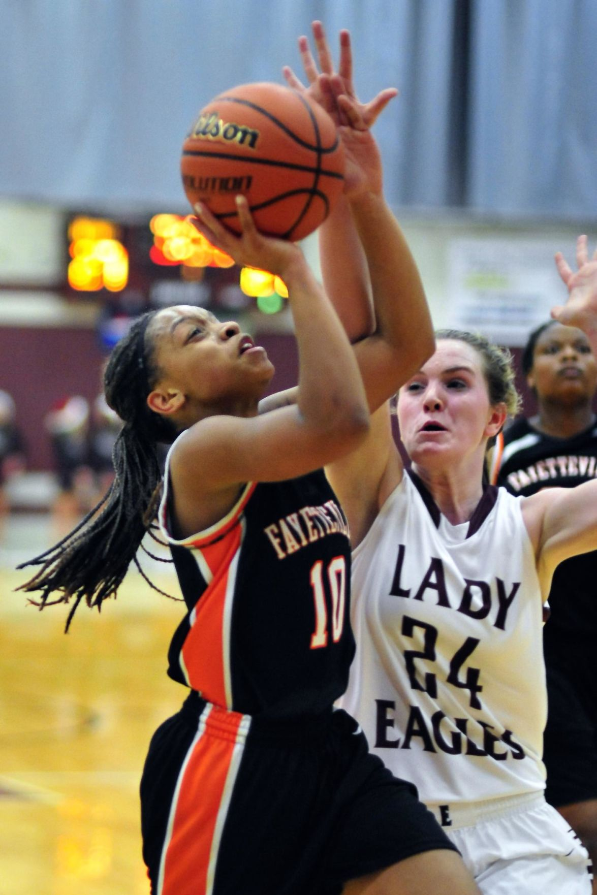 City's Lady Tigers edged by Eagleville