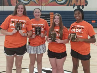 Lady Tiger softball awards