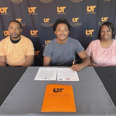 Brown signs basketball scholarship