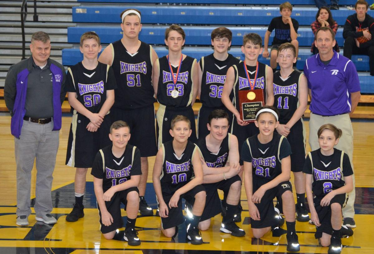 RCA varsity girls, middle school boys take MTAC tourney titles