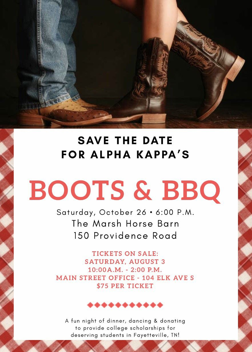 Boots & BBQ' to aid scholarship fund | Lifestyles