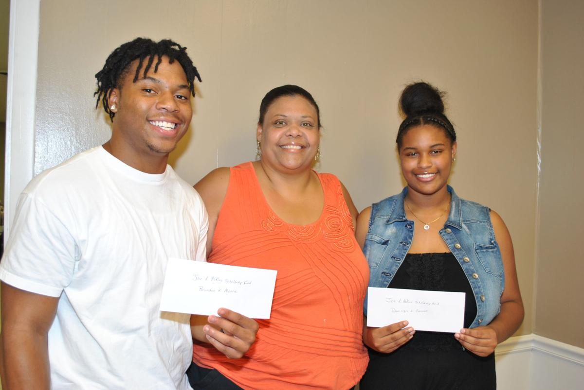Moore, Cannon receive scholarships