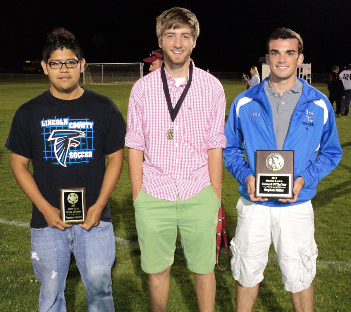 LCHS soccer all-district honors