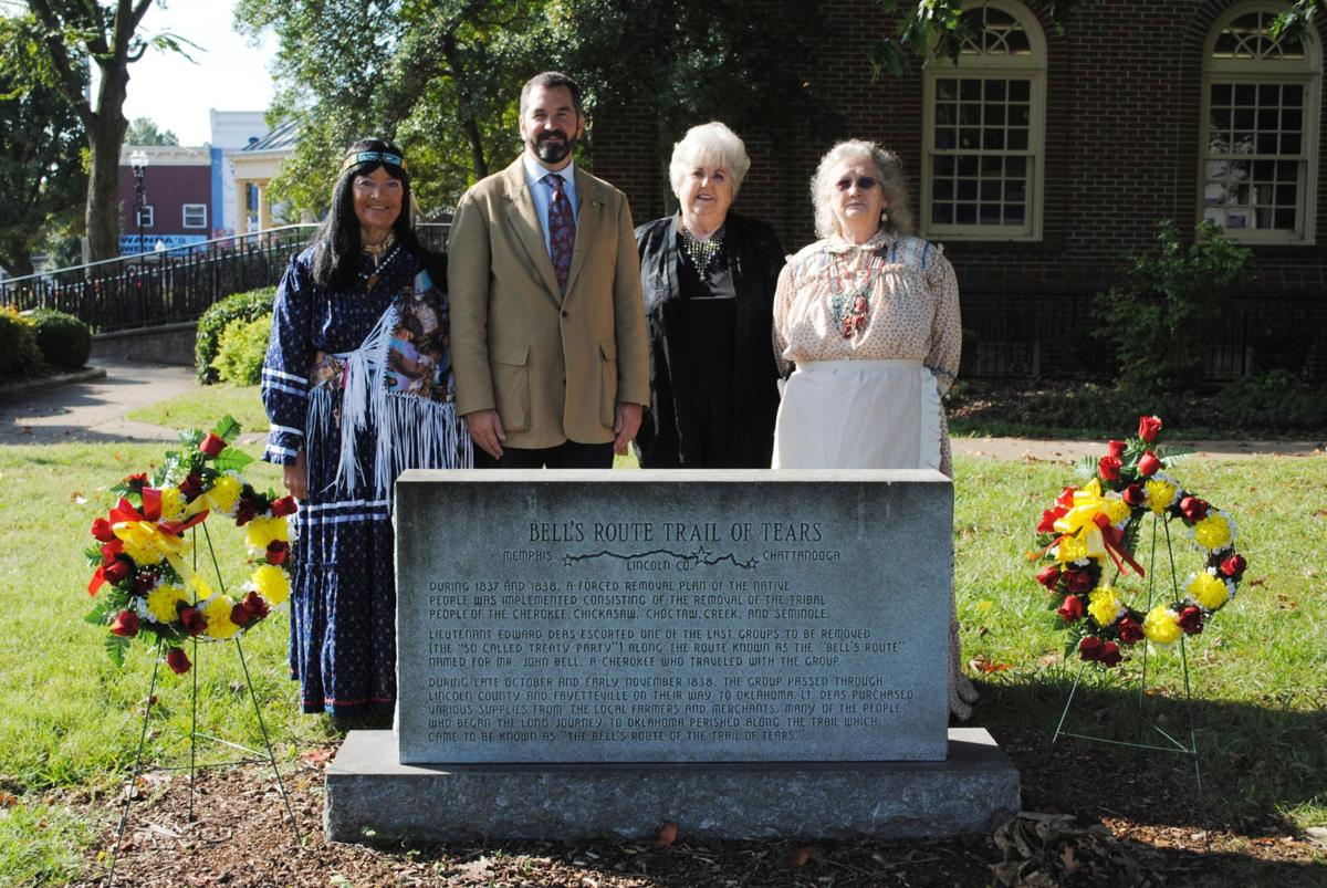 Trail of Tears, History on Square set