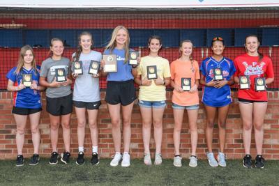 Lady Falcon Middle School Softball Awards