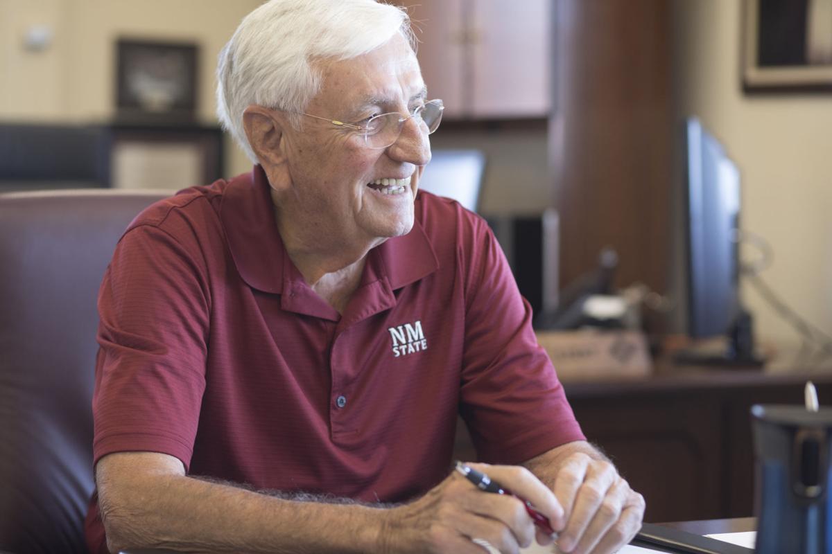 NMSU Chancellor Garrey Carruthers