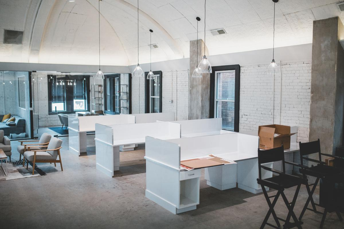 office trend. Office Trend: Co-working Space Opens Downtown Trend
