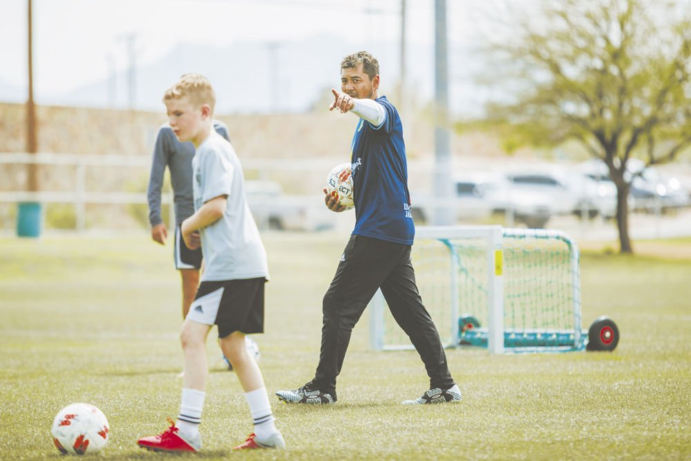 Learning from the pros Franchises offer youth skills programs, camps