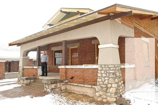 preservation group restores bungalow el paso inc local