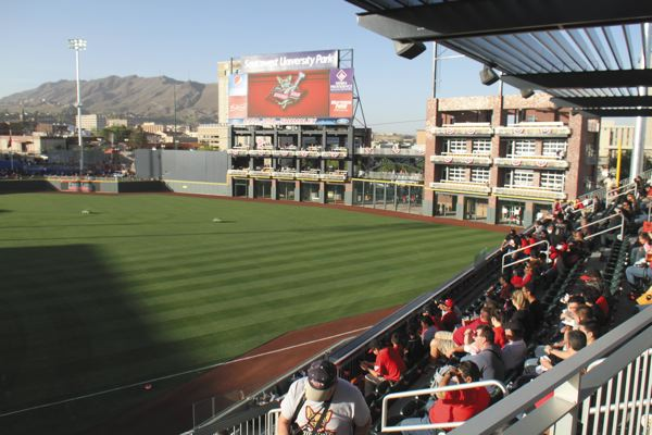 Southwest University Park hosted the El Paso Chihuahuas first home game on Monday, April 28.