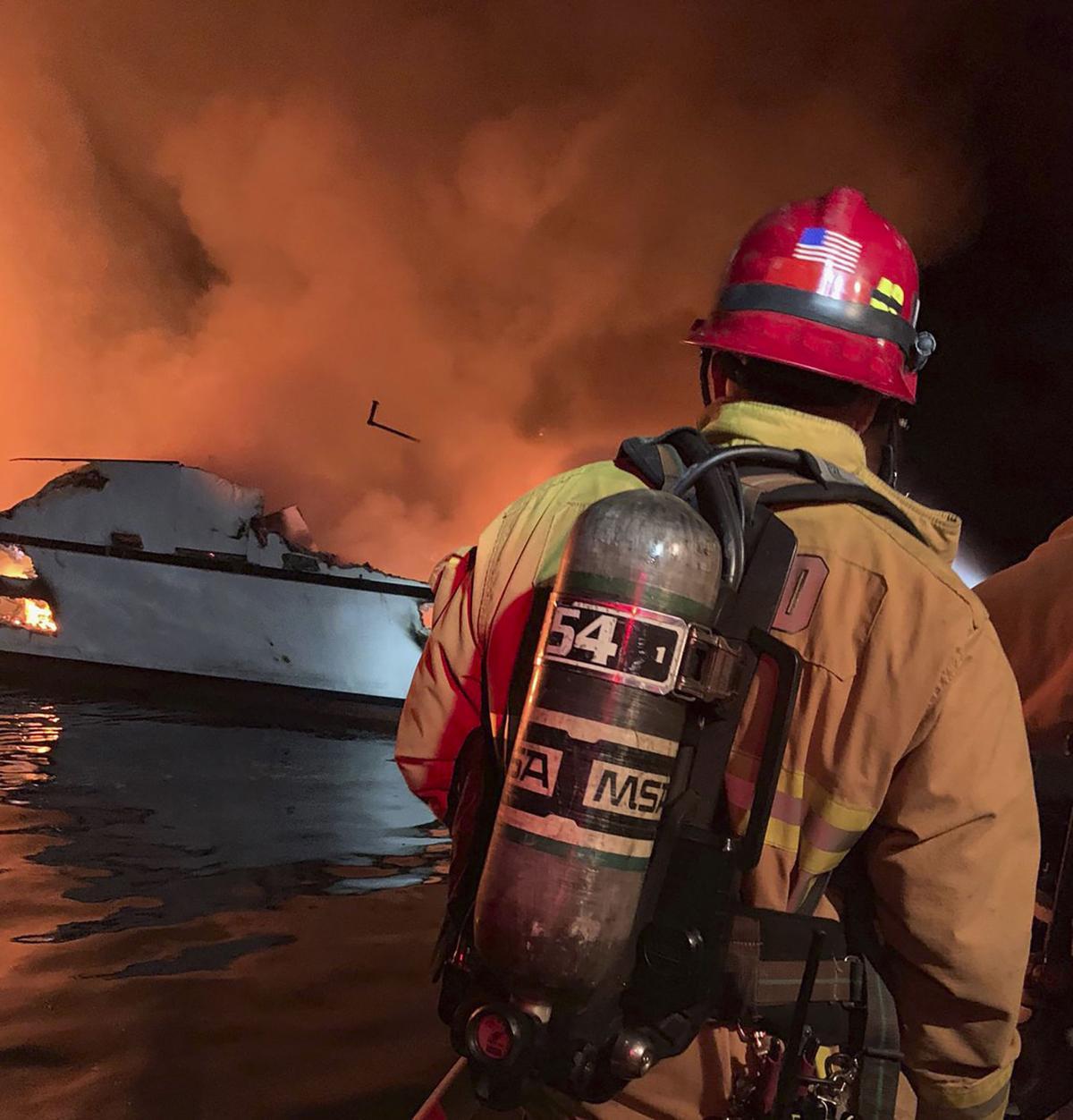 Haunting Distress Calls as Fire Engulfs Scuba Boat; 25 Are Reported Dead