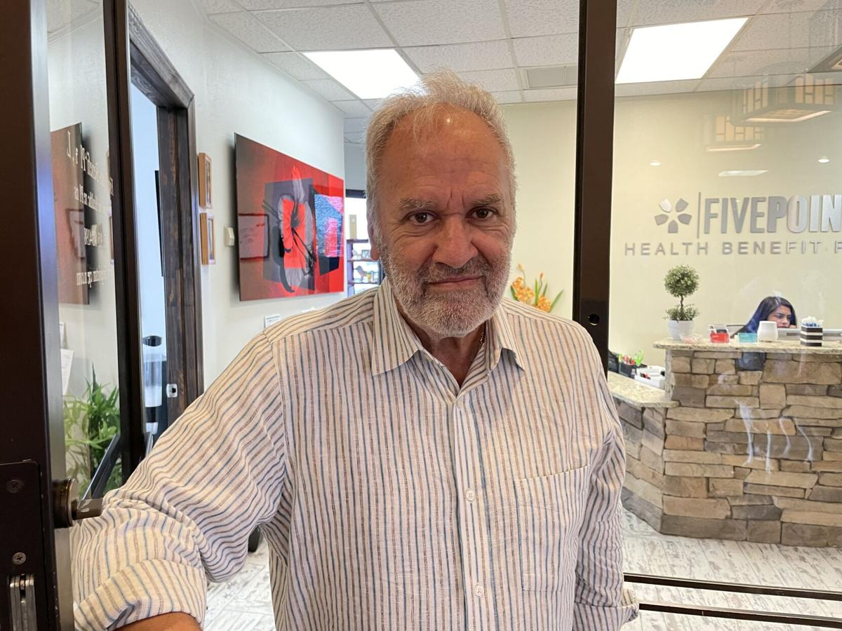 Isaac Belbel, owner of Five Points Health Benefit Plans