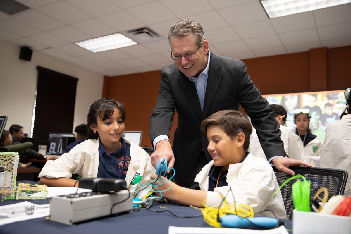 Marathon awards YISD schools STEM grants