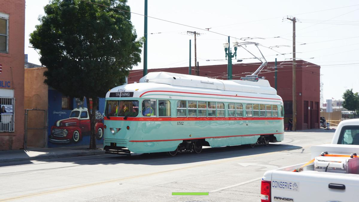 El Paso Streetcars: No steering wheels needed