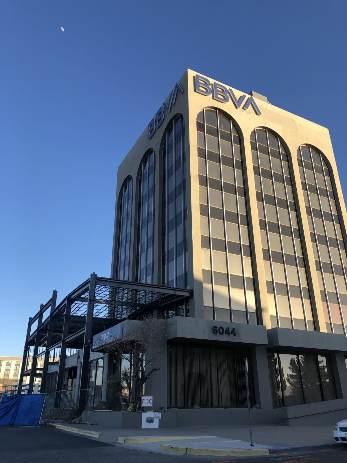 BBVA building is slated for completion in summer of 2021