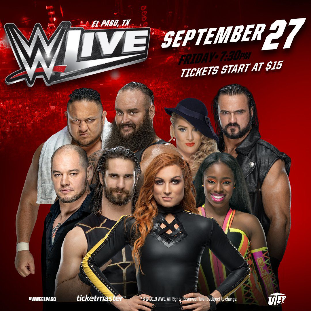 Image result for wwe el paso