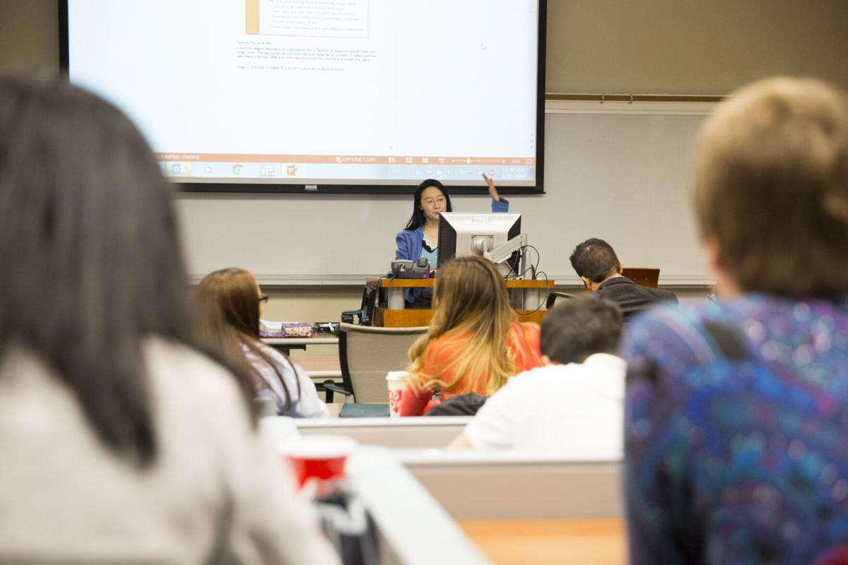 MBA class at UTEP