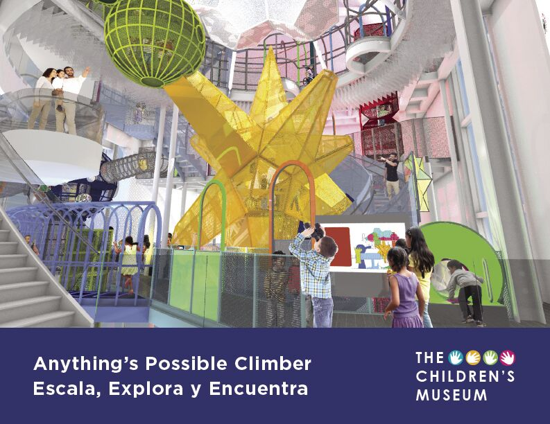 The Anything's Possible climber