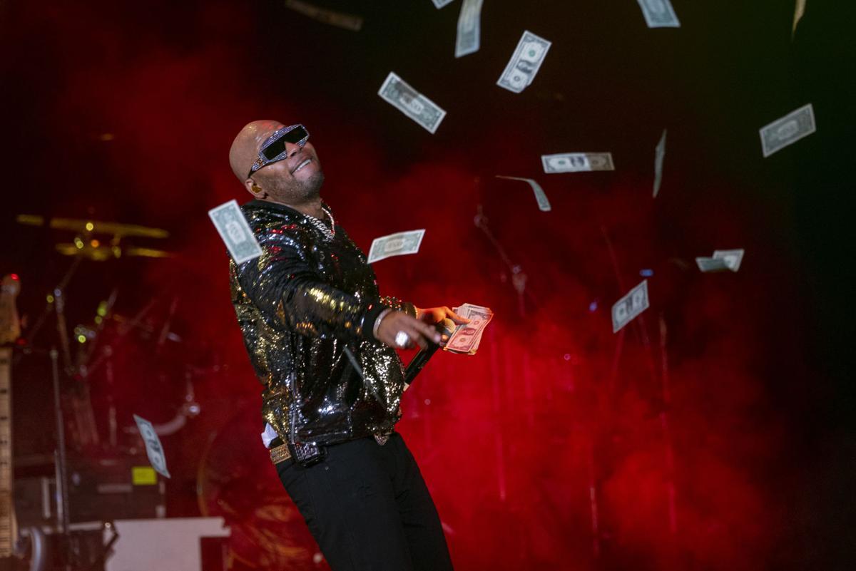 Flo Rida, TLC and Nelly in El Paso