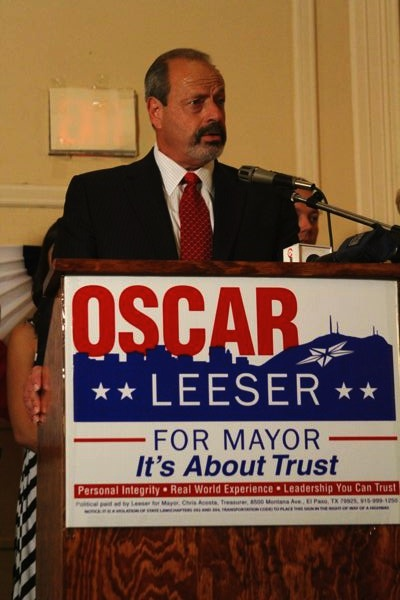 Mayor-Elect Oscar Leeser