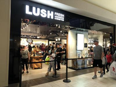 First Lush store