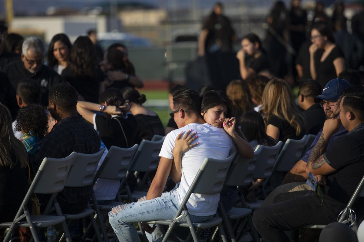 Vigil for Javier Amir Rodriguez