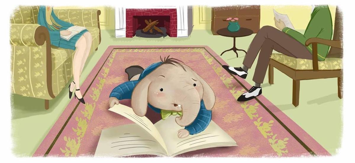 Reading fuels Santosh's imagination!