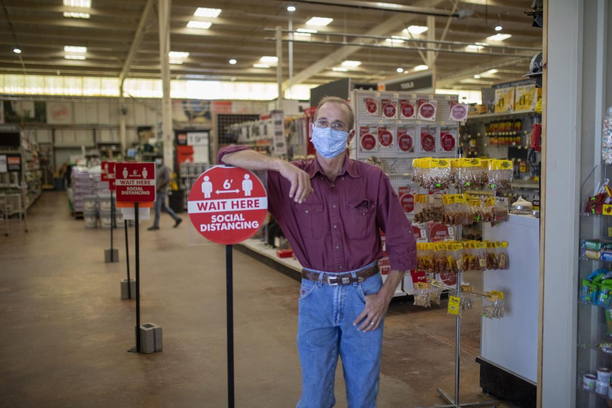 Joe Burks, Wholesale Lumber Co.