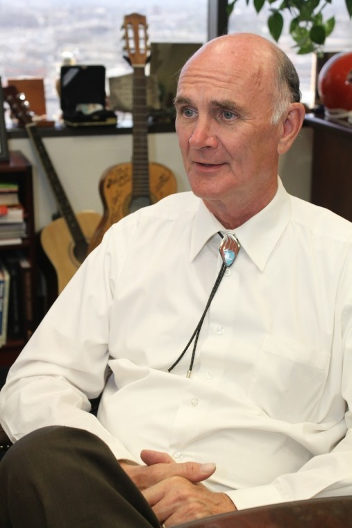 Mayor John Cook