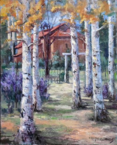 Robbins painting