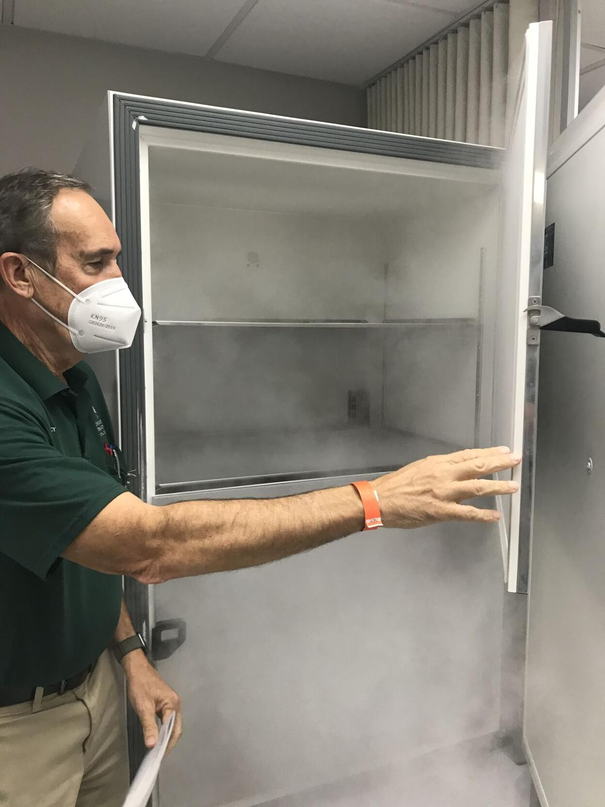 Myron Lewes Opens Panasonic Ultra Cold Freezers