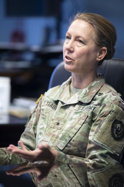 Brig. Gen. Laura Yeager