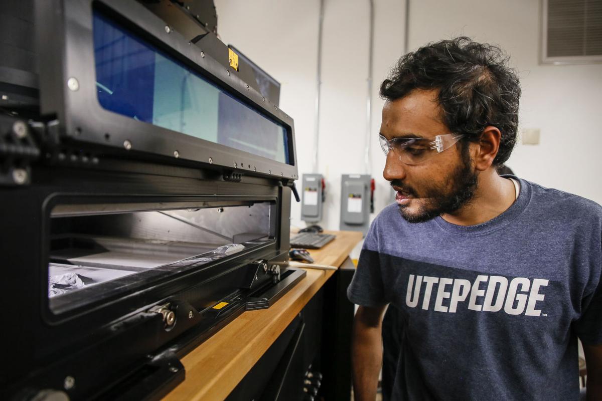 UTEP 3D printing