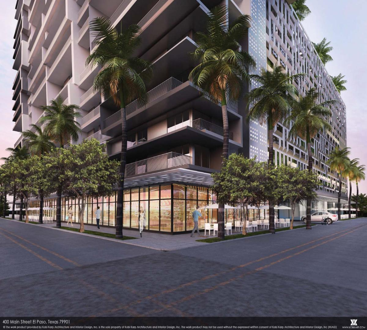 Meyers Downtown tower proposal 2