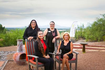 right Skies Realty hired Marie Holguin, Massiel Felix and Debbie Schultz