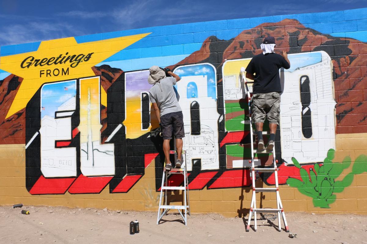 Greetings From El Paso Mural