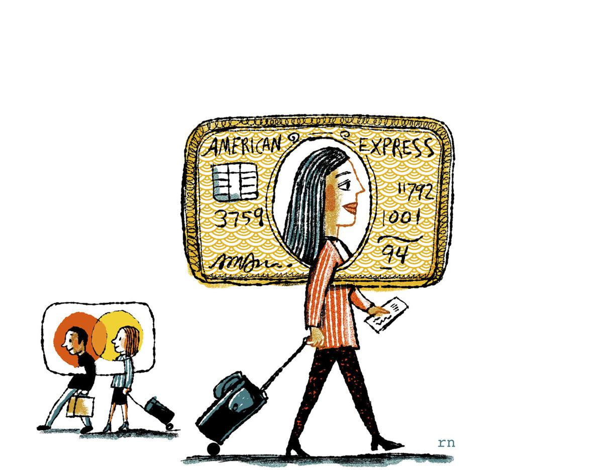 Why airline credit cards have an enduring appeal border business illustration robert neubeckerthe new york times reheart Images