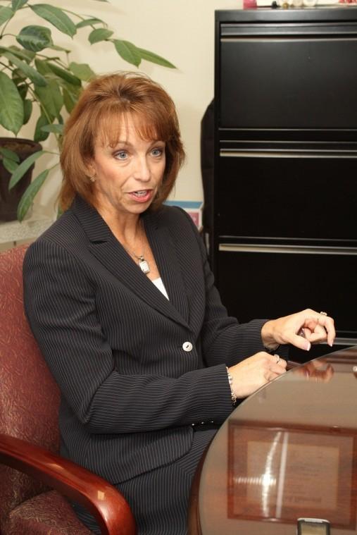 Terri Jordan answering questions
