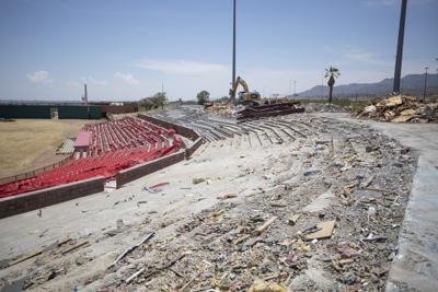 Cohen Stadium Demolition