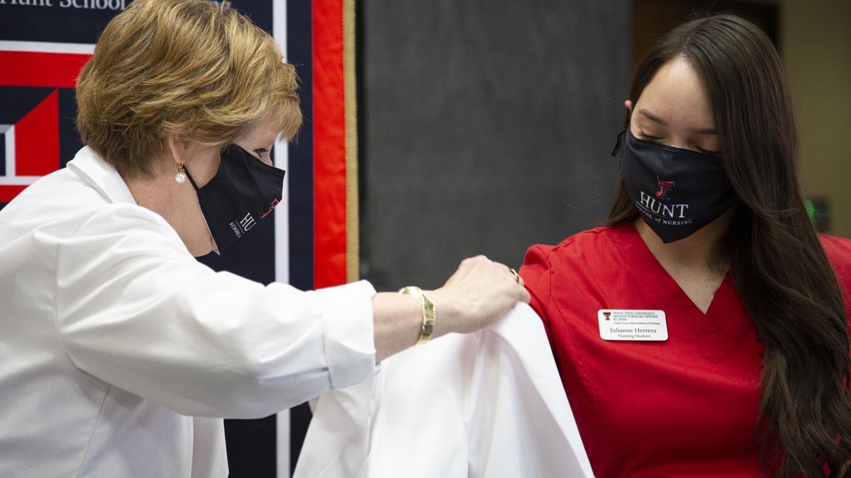 nursing students get white coats
